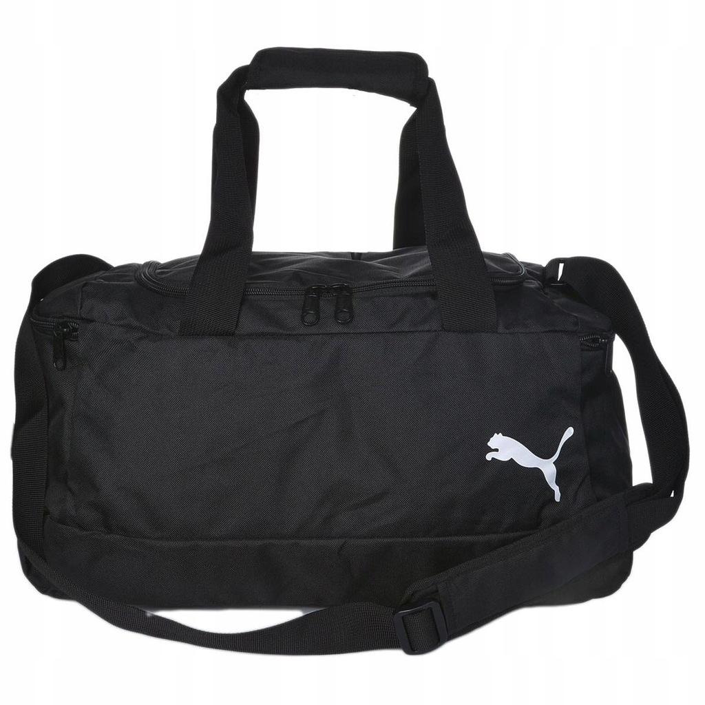 B9556 PUMA torba sportowa czarna 45x25x20cm