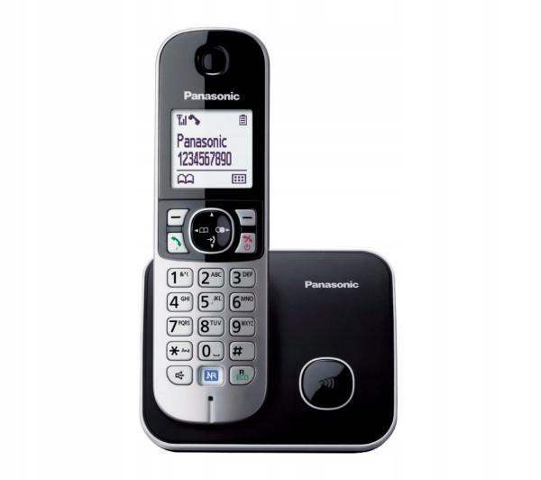 Telefon bezprzewodowy Panasonic KX-TG6811PDB CLIP