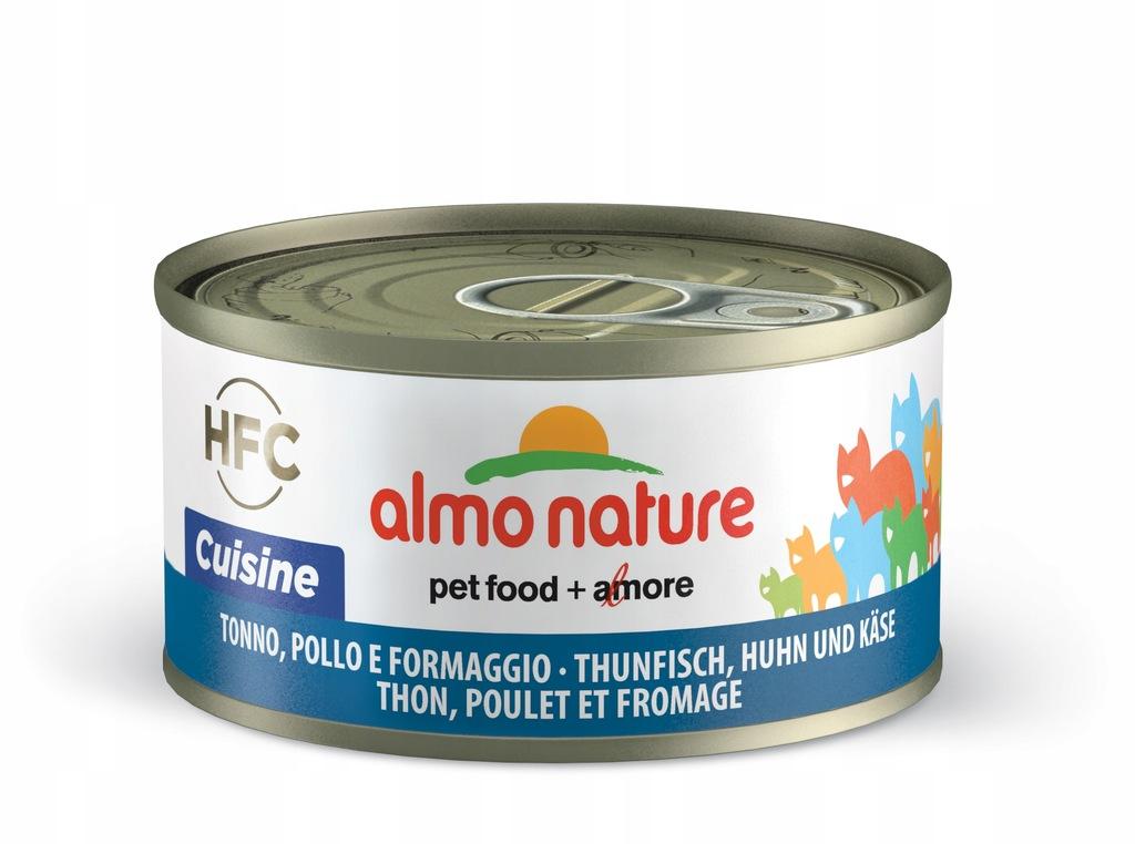 ALMO NATURE HFC Cuisine tuńczyk kurczak i ser 70g