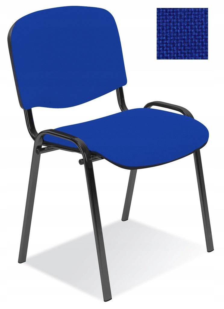 Krzesło konferencyjne ISO niebieskie Nowy Styl