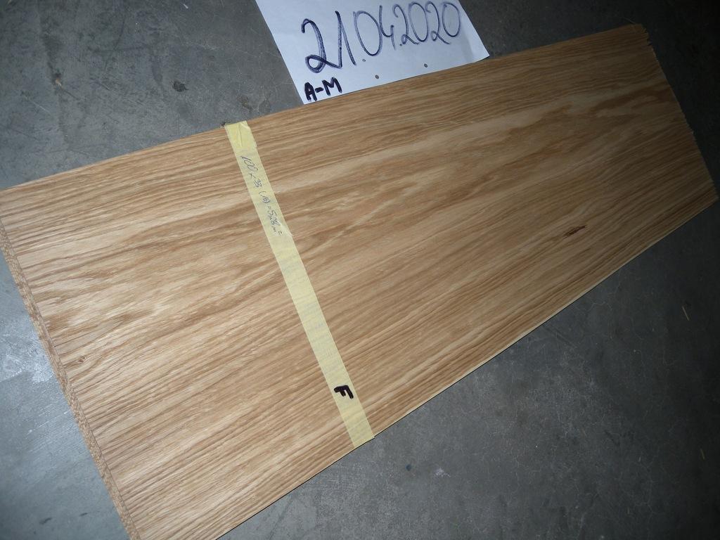 Paczka forniru dąb europejski PR46488 5,28 m.kw.