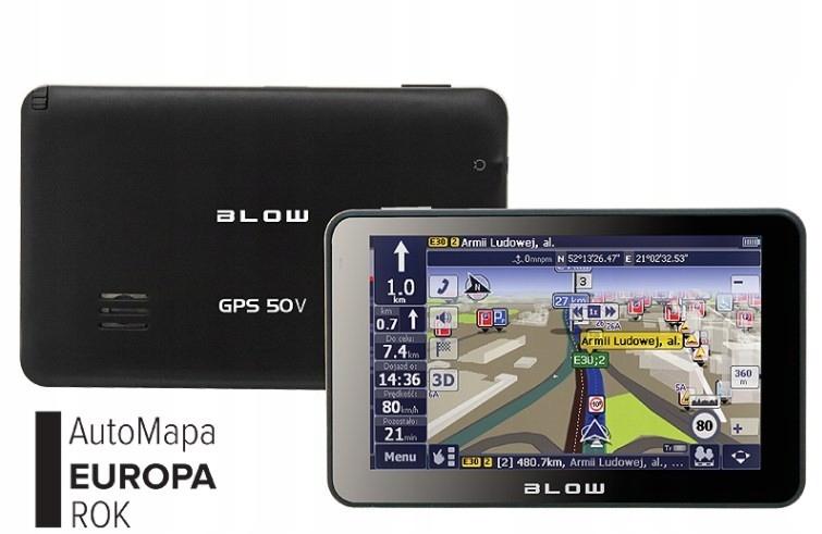 GPS50V BLOW z AutoMapą Europa