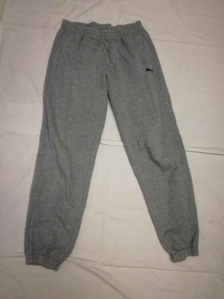 Puma spodnie dresowe bawelniane l