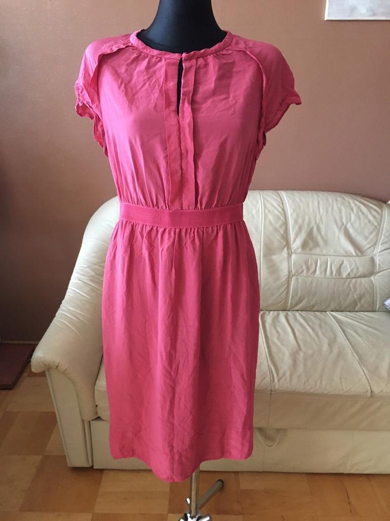 NOA NOA _cudna sukienka na lato jedwab_ S/M