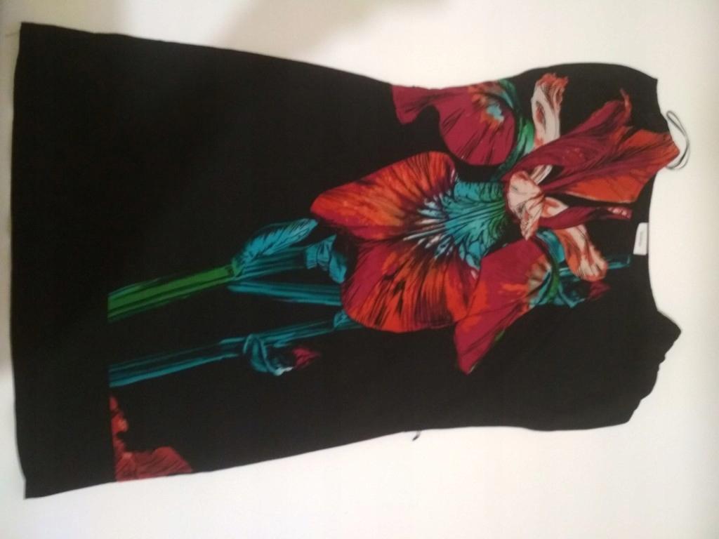 Kwiat tunika sukienka C&A 38 roz M
