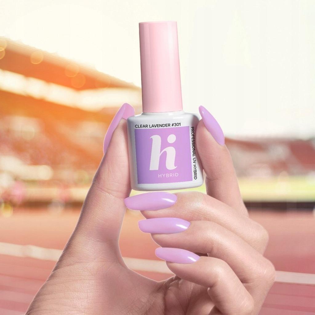 Hi Hybrid Lakier hybrydowy nr 301 Clear Lavender 5