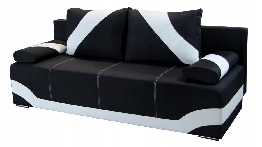 Kanapa TORRA rozkładana sofa ekoskóra łóżko RIBES