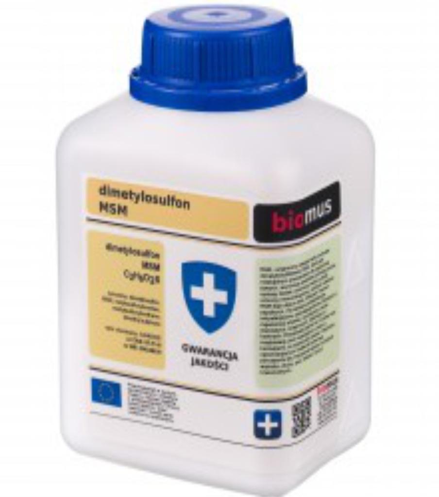 BIOMUS MSM Dimetylosulfon. SIARKA ORGANICZNA 100 g