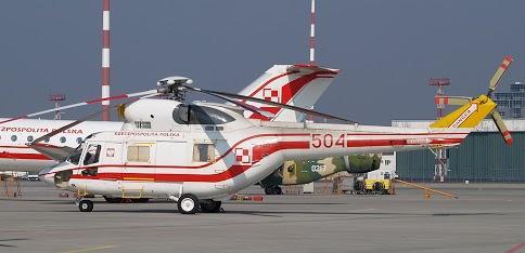 Siły Powietrzne - lot śmigłowcem W-3 Sokół