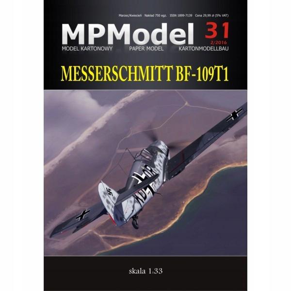 Messerschmitt Bf-109 T1, 1:33, MPModel