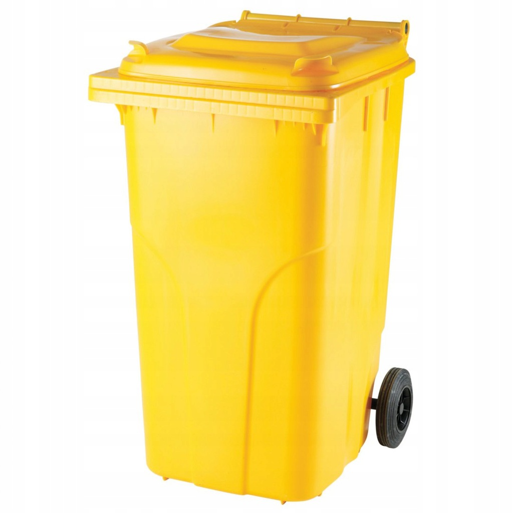 Pojemnik kubeł na odpady i śmieci ATESTY Europlast