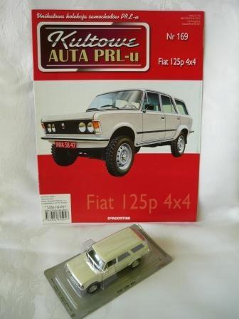 Fiat 125p 4x4 Kultowe Auta Prl Nr 169 Dea 1 43 7870706778 Oficjalne Archiwum Allegro