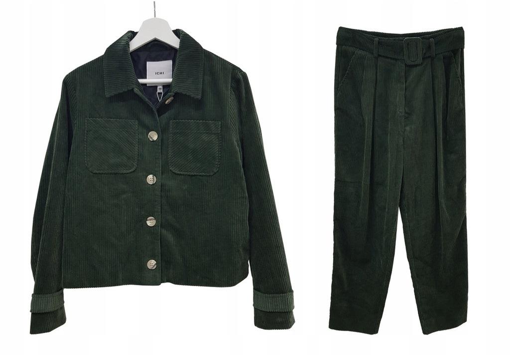ICHI Komplet katana spodnie slouchy sztruks [36]