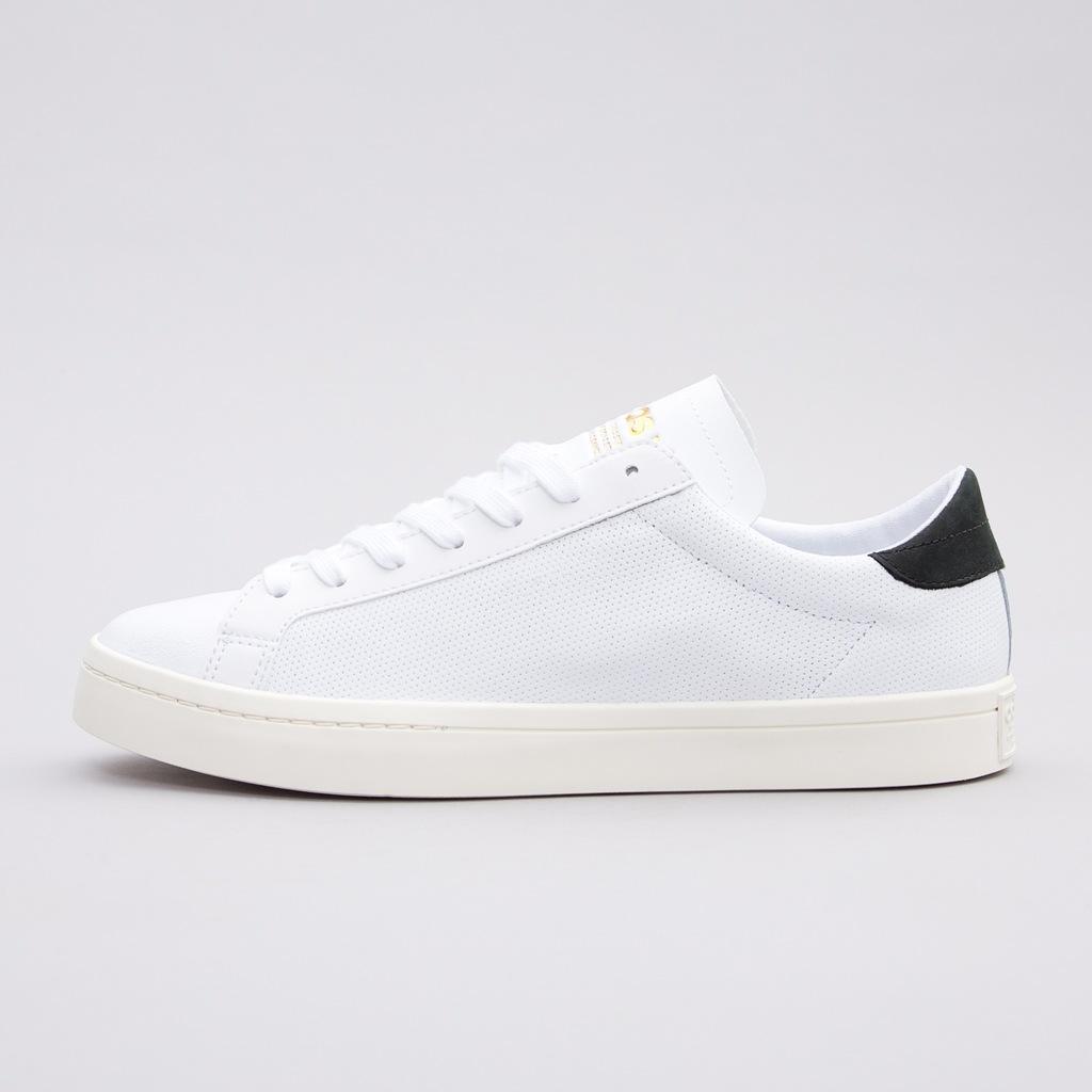 Nowe buty męskie adidas COURTVANTAGE all white białe