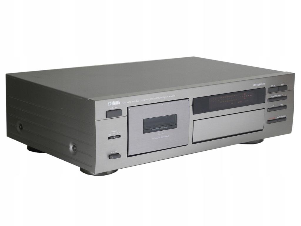 YAMAHA KX-480 - ładny magnetofon kasetowy