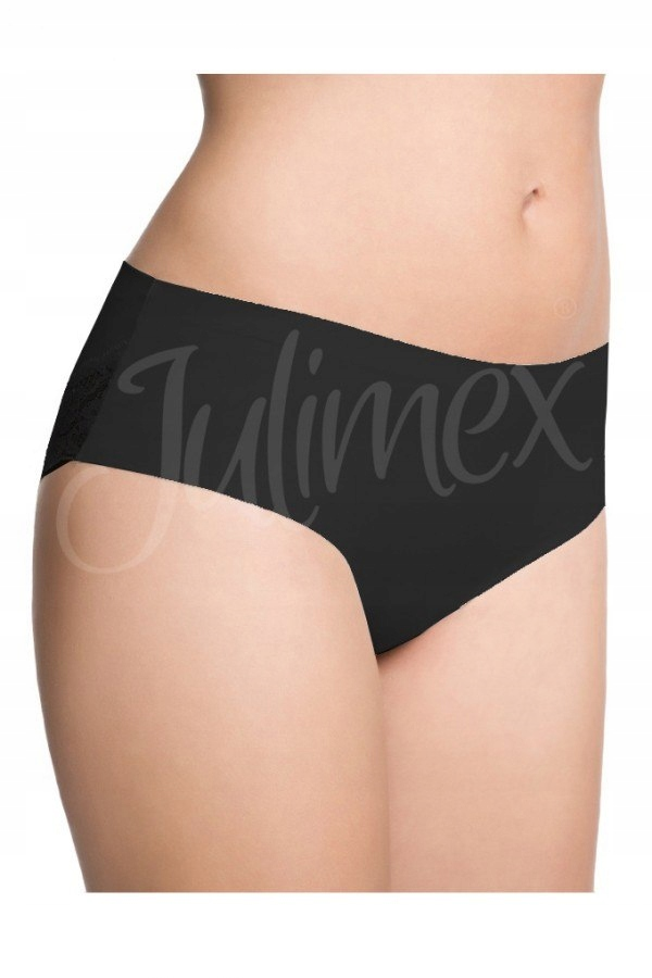 Figi damskie CHEEKIE czarne Julimex czarny XL