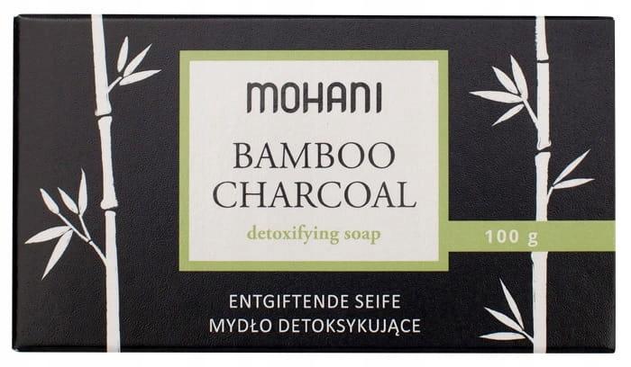 Mydło z węglem bambusowym 100g Mohani