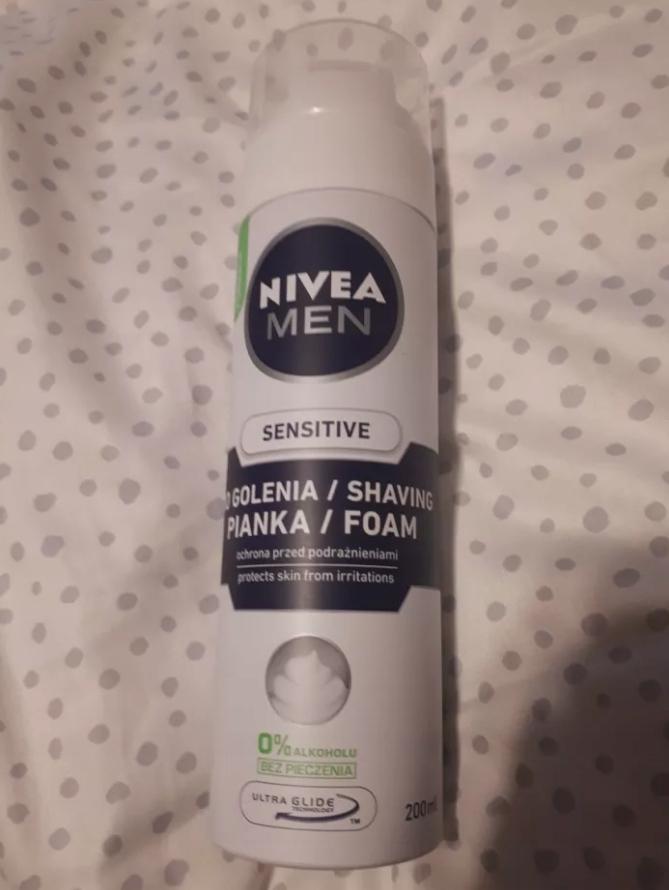 Męska pianka do golenia Nivea Men Sensitive 200 ml