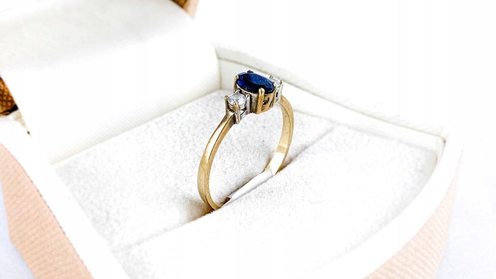 Złoty pierścionek 333 / 8K / 1,30g / R13