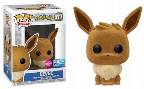 Pokemon Funko POP! Eevee Flocked 577 Exclusive