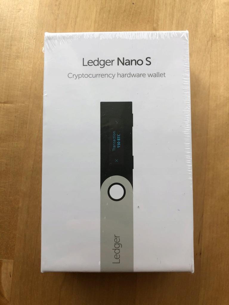 Ledger Nano S NOWY 24h z PL FOLIA