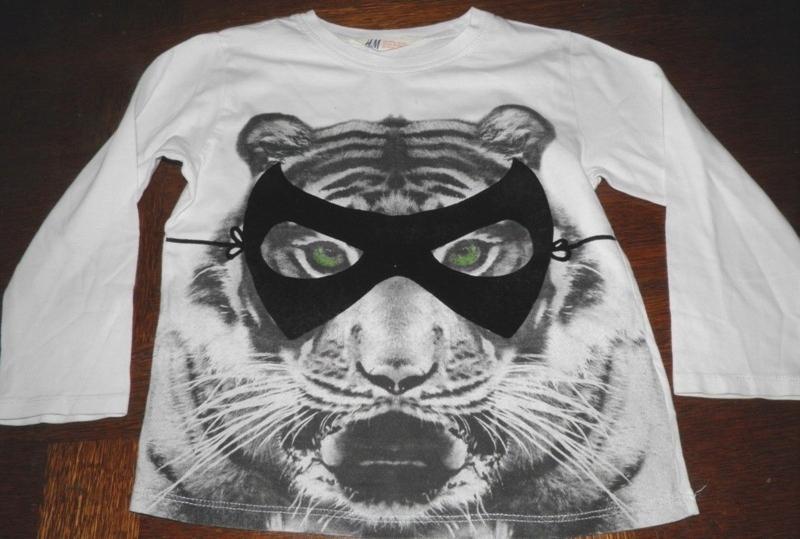 Bluzka H&M tygrys 110-116