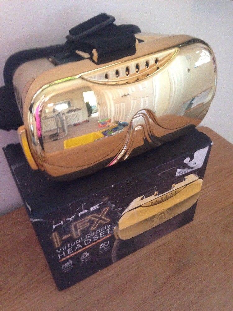HYPE I-FX Virtual Reality HEADSET GOLD