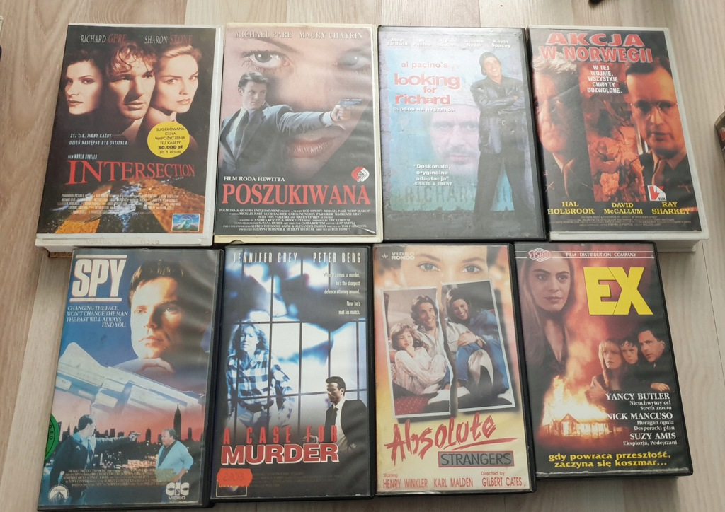 VHS RÓŻNE 2