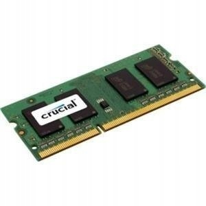 Crucial 8 GB, DDR3, 1600 MHz, Notebook, Registered