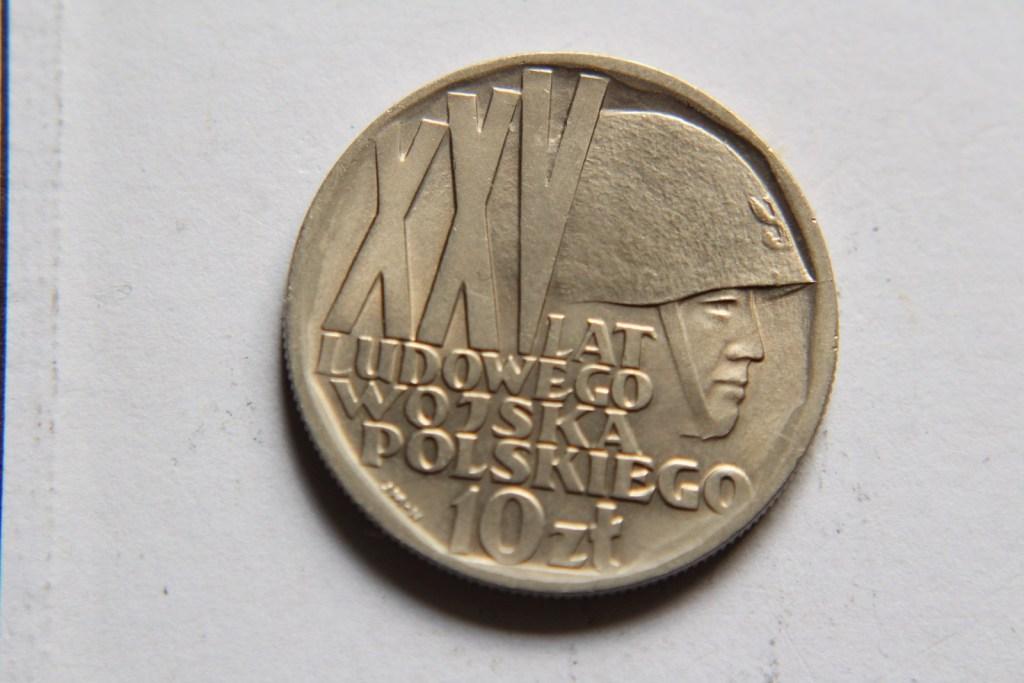 10 ZŁ XXV LAT LWP 1968   - W016