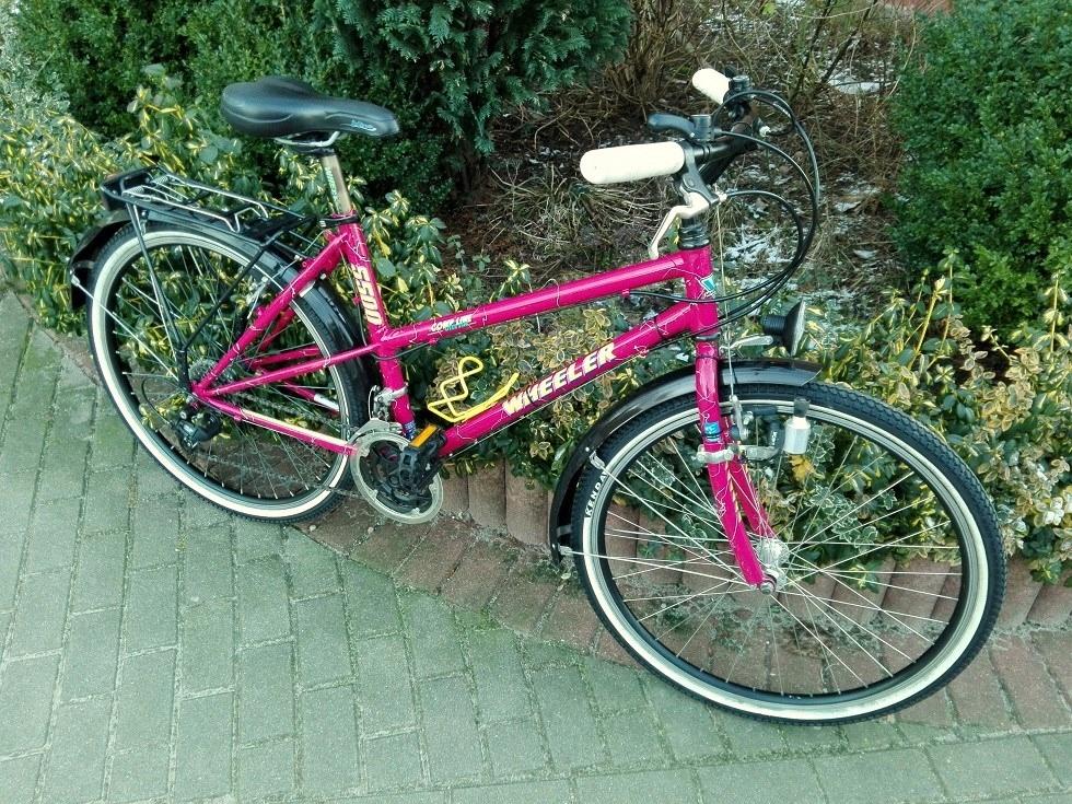 rower damka WHEELER koła 26'' rama CR-MO + ew kosz