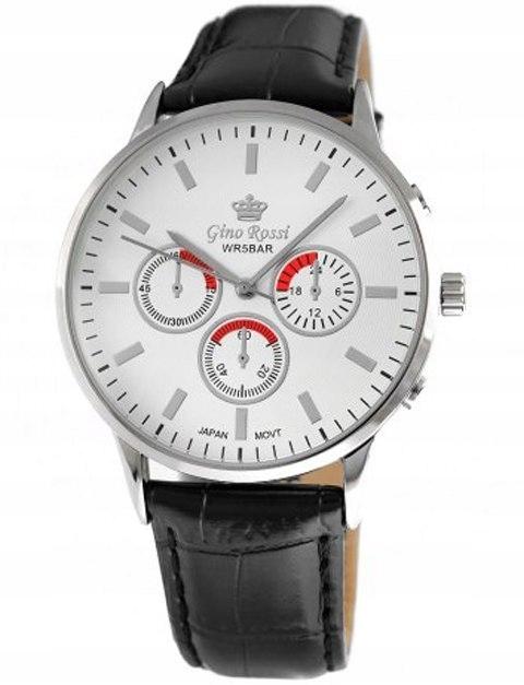 Zegarek Męski Gino Rossi MONTREAL 8185A-3A1
