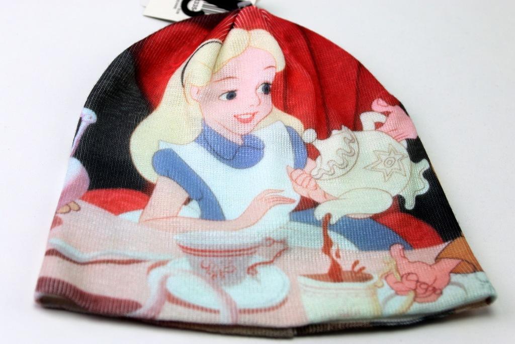 Disney Alicja W Krainie Czarów Czapka zimowa 53-56