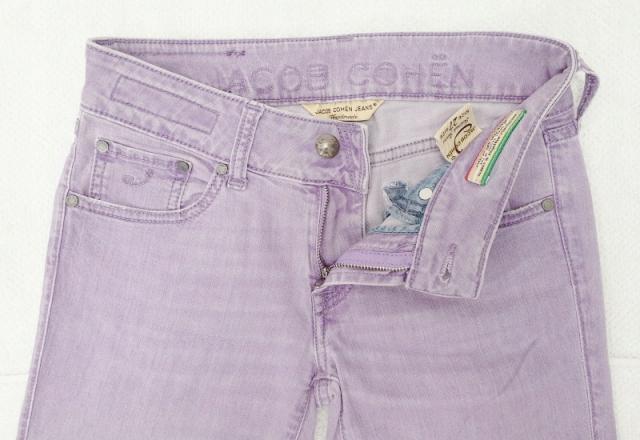 JAKOB COHEN oryginalne włoskie jeansy, rurki 27