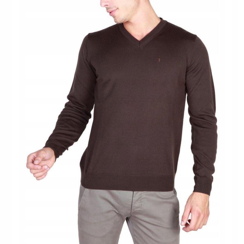 Trussardi 32M33INT sweter męski brown L