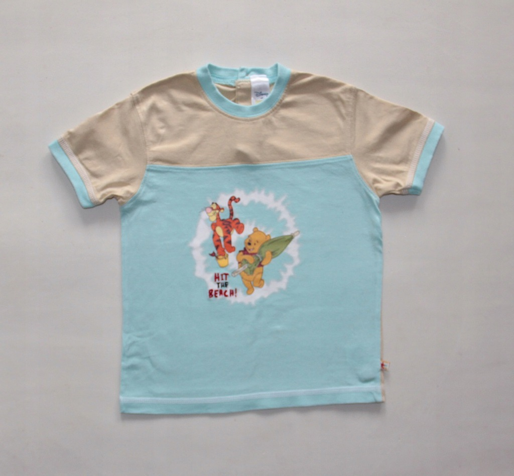 KUBUŚ PUCHATEK DISNEY bluzka T-shirt C&A 92