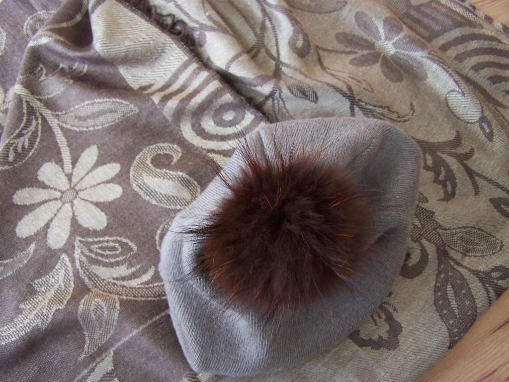 Komplet- szalik + czapka