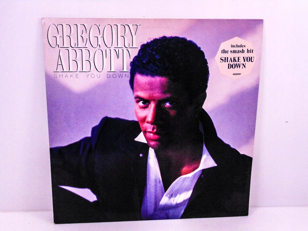 LP GREGORY ABBOTT SHAKE YOU DOWN NM