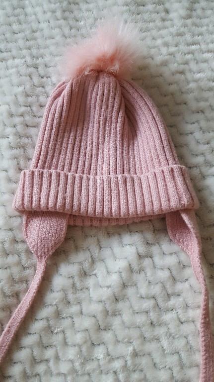 czapka zimowa jesienna Zara 42-50 cm