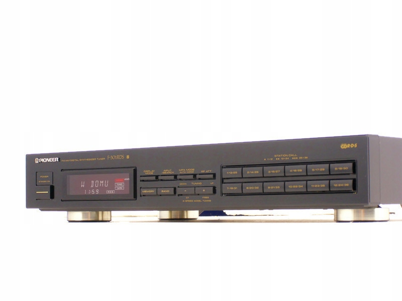 PIONEER F-301RDS tuner stereo RDS