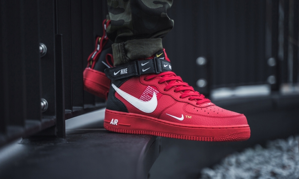 Buty Nike Air Force 1 07 Mid Utility 804609 605