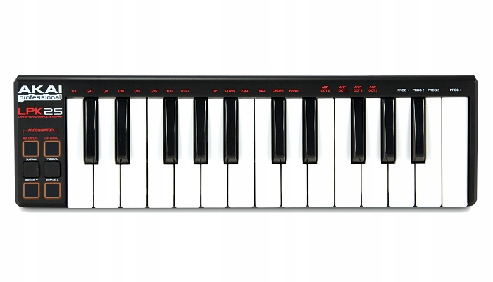 Akai LPK 25 - Miniaturowa klawiatura + kurs domowe