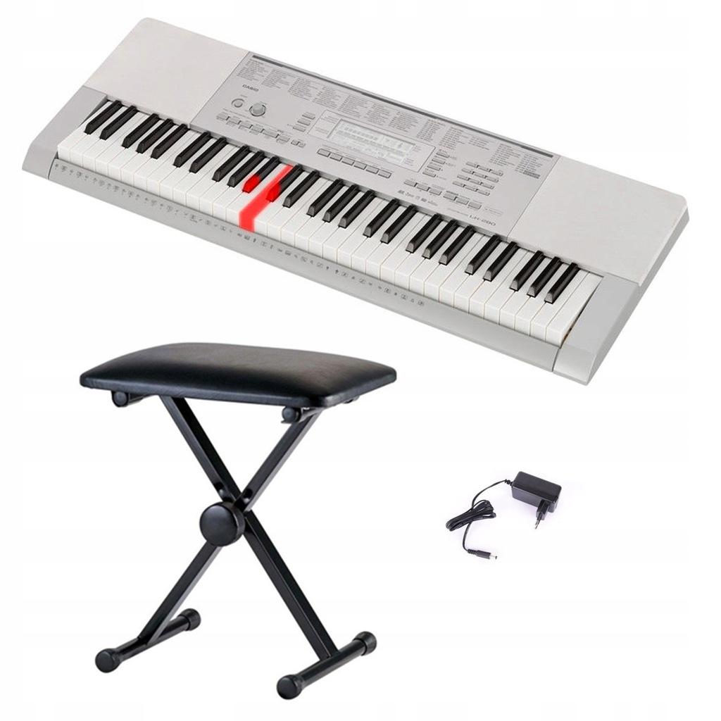 Casio LK-280 keyboard + ława
