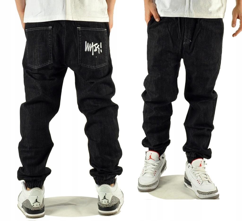 Spodnie 30 Mass Dnm Signature Jogger Blk joggery