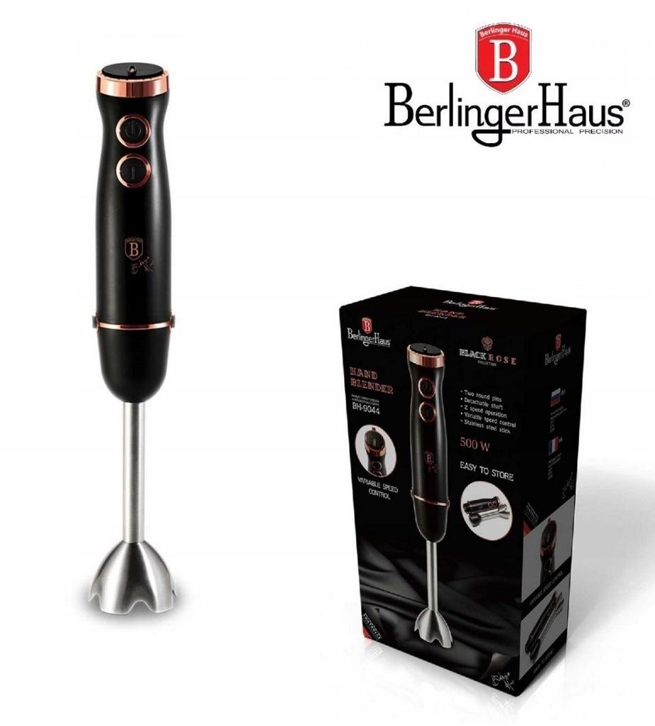 BLENDER RĘCZNY 220-240 V 500 W BERLINGER HAUS