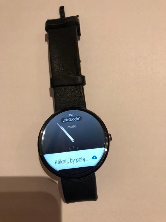 Moto 360 smartwatch Motorola 360