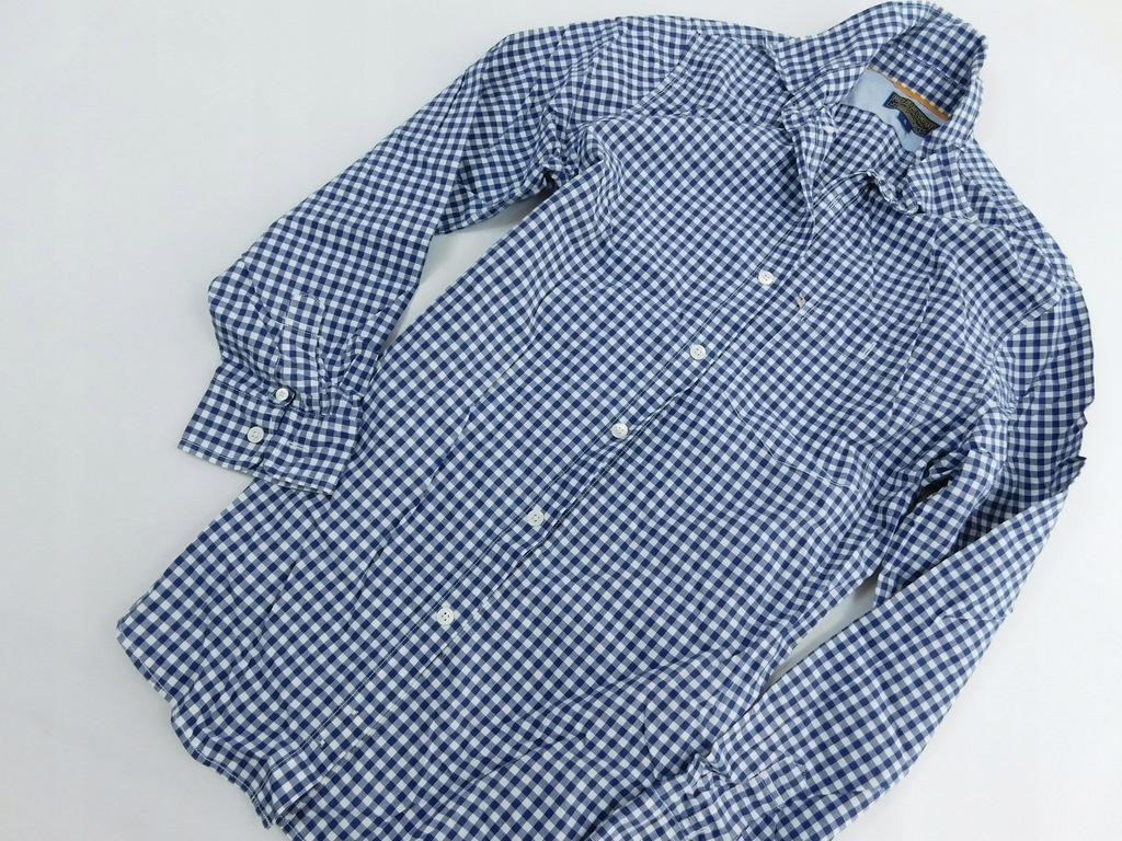 2310g68 RALPH LAUREN koszula KRATKA męska CASUAL S
