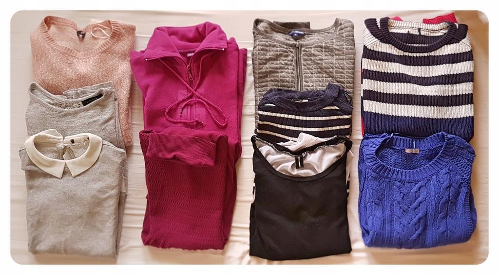 Zestaw ubrań, 10 sztuk, rozmiar 42/44, jesień/zima
