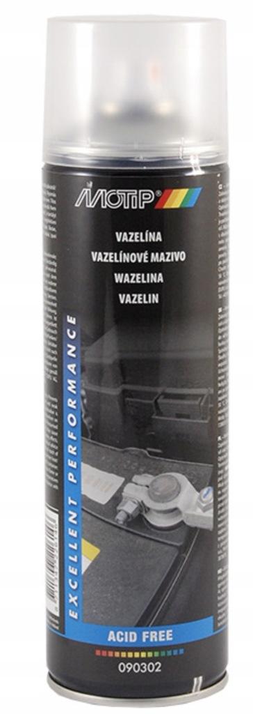 Smar wazelinowy w sprayu 500ml MOTIP