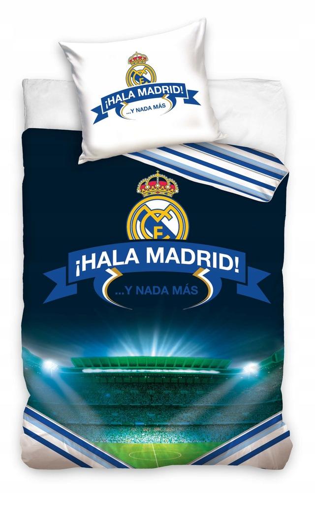 REAL MADRYT MADRID pościel 140x200 +70x80 LICENCJA